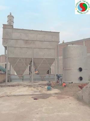 Hệ thống xử lý nước công ty sản xuất