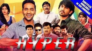 Hyper 2018 Hindi Dubbed 720p WEBRip 500mb x265 HEVC