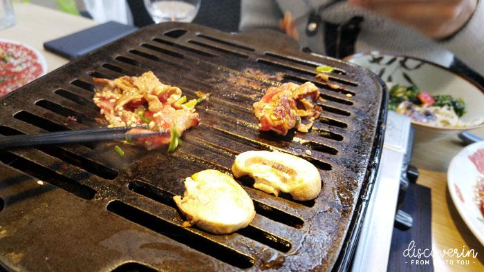 Bulgoki grill