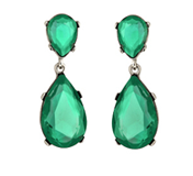 Resultado de imagen de kenneth jay lane emerald earrings