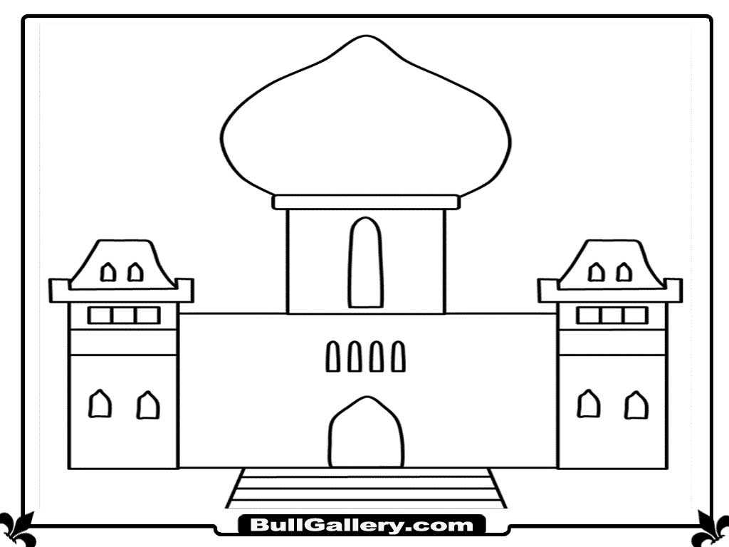 Islamic Coloring Pages - Eskayalitim