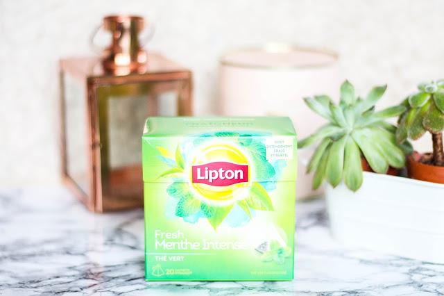 Lipton Thé à la menthe intense
