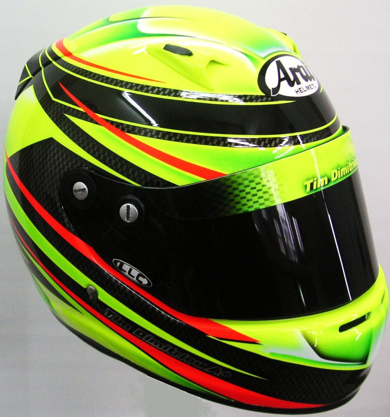 Arai Helmet Design for Karting #190 ~ Hand Painted Helmets ...