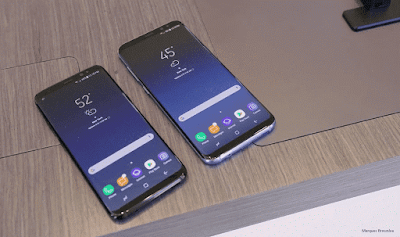 Galaxy S8 Review : display