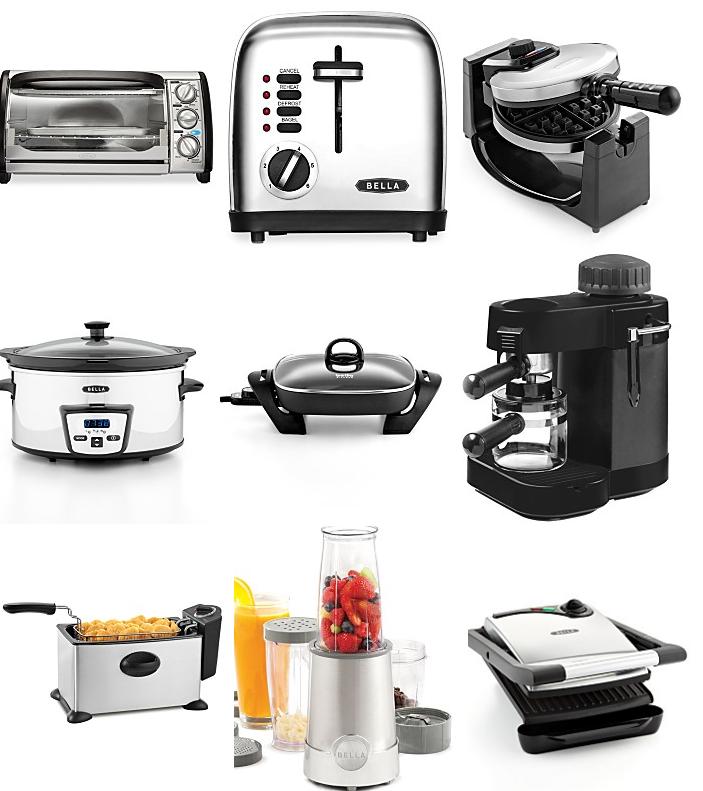Bella And Black & Decker Kitchen Appliances Sale Only $7