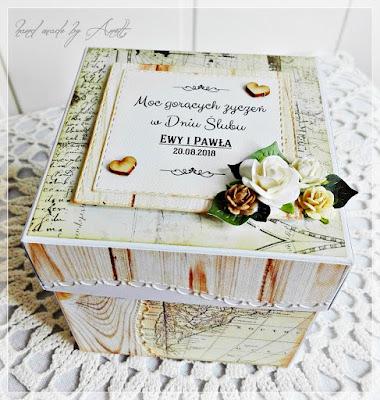 Box ślubny dla podróżników:)