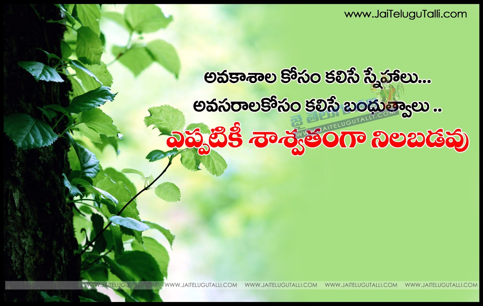 Quotes About Real Friendship Friendship Quotes In Telugu Best Life Motivational Thoughts And