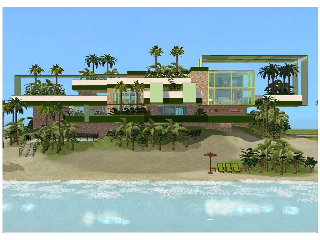 A Modern House on Beach 6