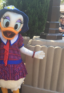 Daisy Duck Buena Vista Street Disney California Adventure