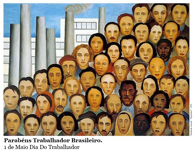Parabéns Trabalhador Brasileiro. 1 de Maio Dia Do Trabalhador