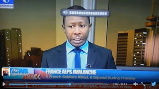 See what wizkid sing caused in channels tv news today *lol*