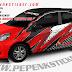 Mobil, Honda, Brio, cutting sticker Mobil, Digital printing, Cutting Sticker, jakarta, Bekasi,