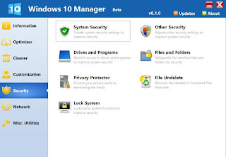 Windows 10 Manager 2.1.4  Free Download