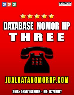 Jual Database Nomor Handphone Khusus Tri
