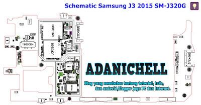 Schematic Samsung J3 2015 SM-J320G