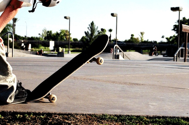 Skateboarding is rad