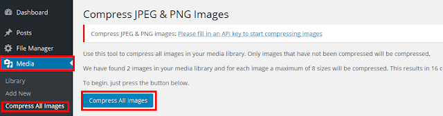 TinyPNG WordPress plugin