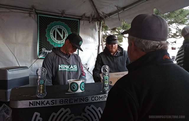Ninkasi Beer at Overland Expo West 2016