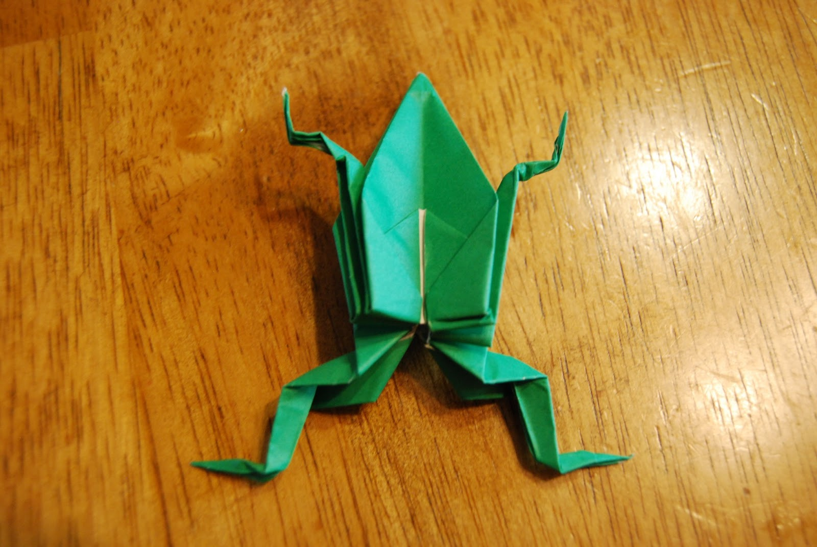 Oragami Inflatable Frog - photo#1