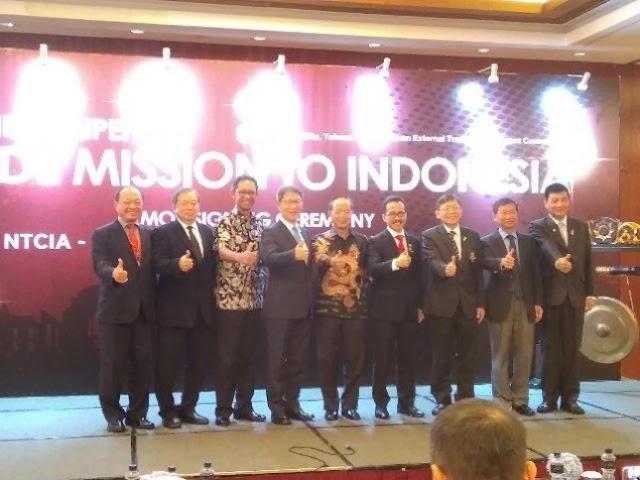 Taiwan - Indonesia Jajaki Kemitraan Industri ICT Hingga Smart City