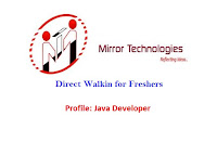 Mirror-Technologies-walkin-java-developer-freshers