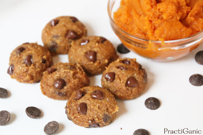 Vegan, Gluten Free Pumpkin Chocolate Chip Cookies