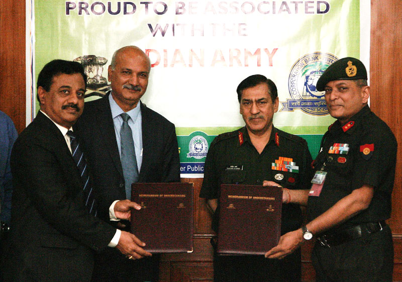 Chindits: MoU on Defence Salary Package Signed between