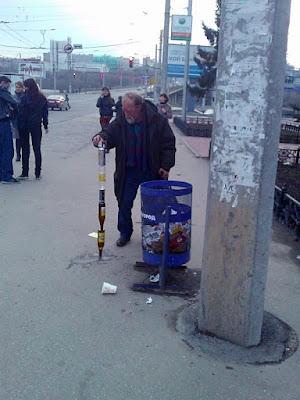 Penner lustig - Bier Flaschen sammeln