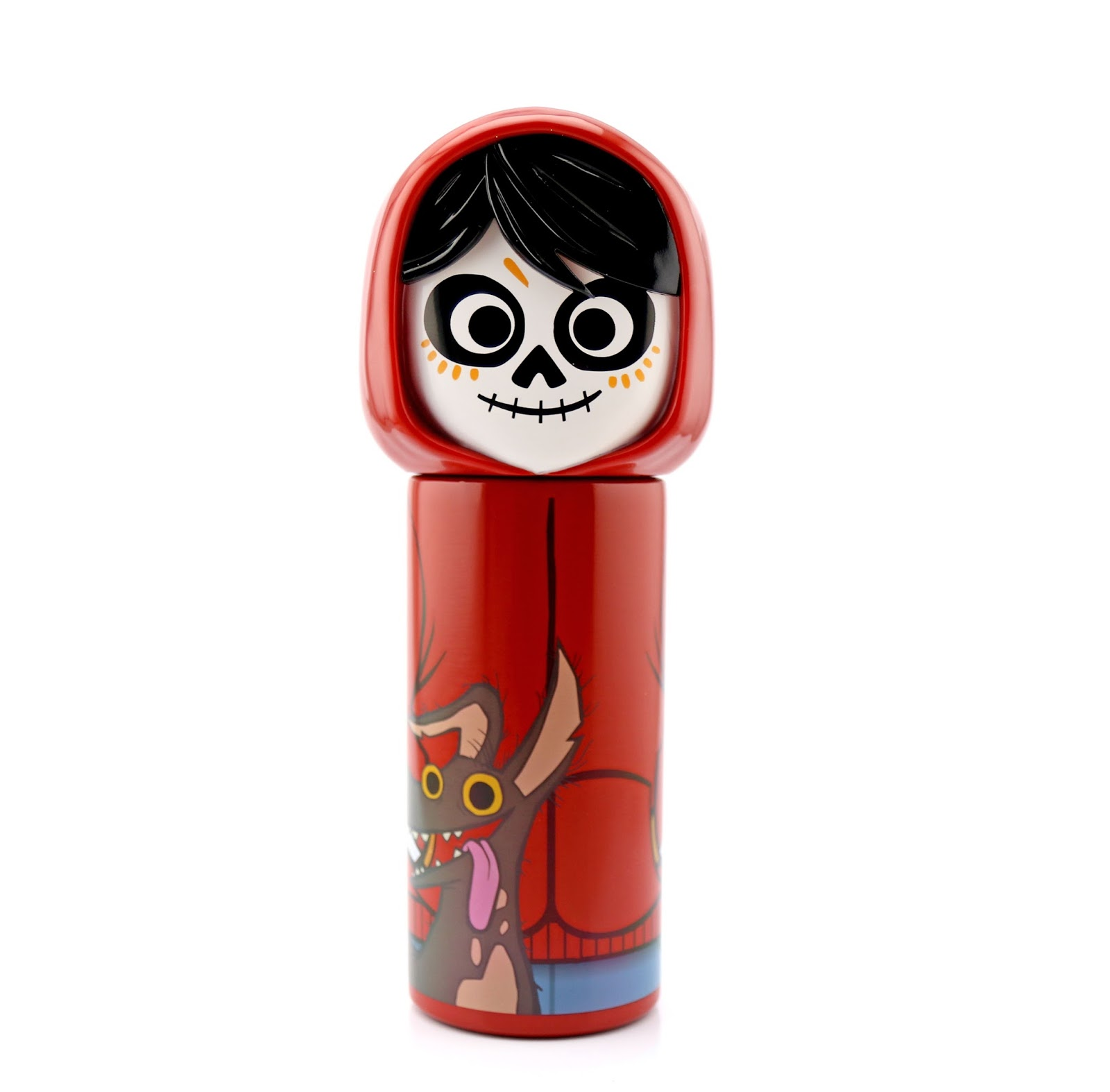 disney store coco miguel and dante water bottle