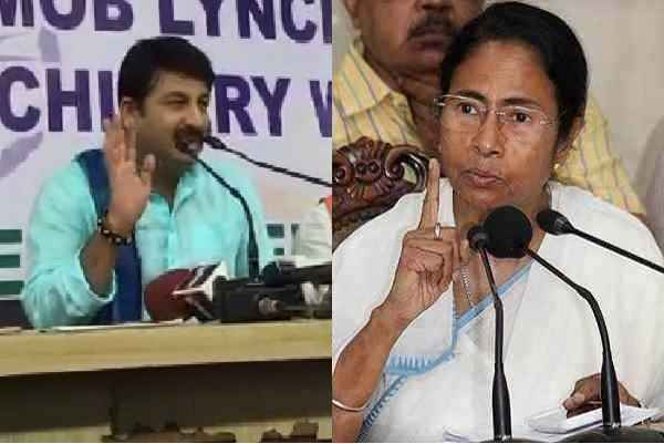 bengal-danga-latest-news-manoj-tiwari-slams-mamata-banerjee