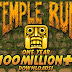 Temple Run in 1 year: 100 million downloads, 10 billion sessions played and 54,000 years spent playing!