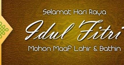 Kumpulan Pantun Ucapan Lebaran Idul Fitri 2018/2019 ...