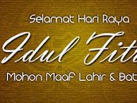 Kumpulan  Pantun Ucapan Lebaran Idul Fitri 1438 H 2017/2018