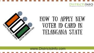 Telangana Voter Id Apply Online