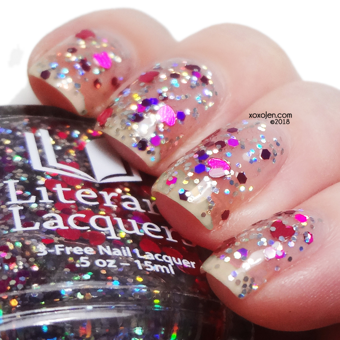 xoxoJen's swatch of Literary Lacquers Mawage