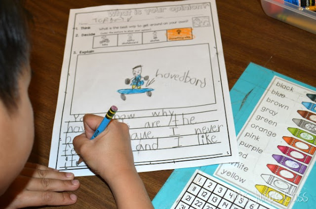Writers workshop Lesson Plans for Kindergarten and First Grade.  Simply Print and TEACH!