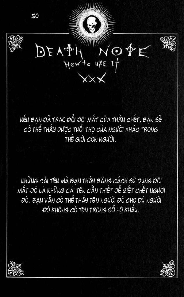Death Note chapter 110 - how to use trang 33