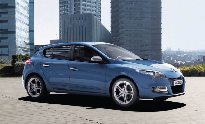 Renault Megane 2012 facelift version