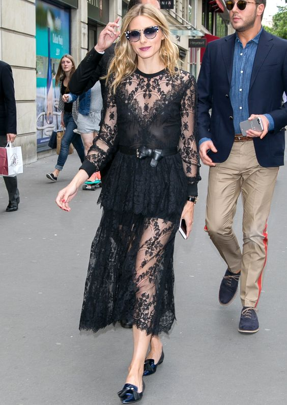 The Olivia Palermo Lookbook Olivia Palermo At Couture Fashion Week In Paris