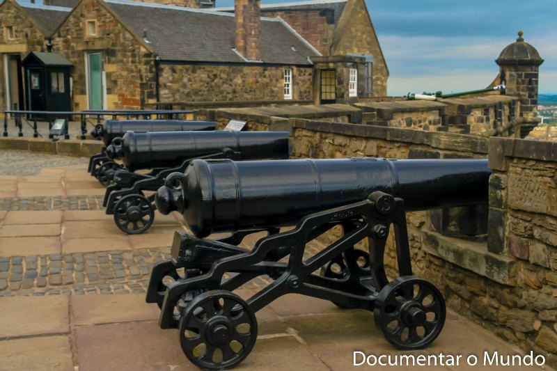 Forewall Battery; Castelo de Edimburgo; Edinburgh Castle