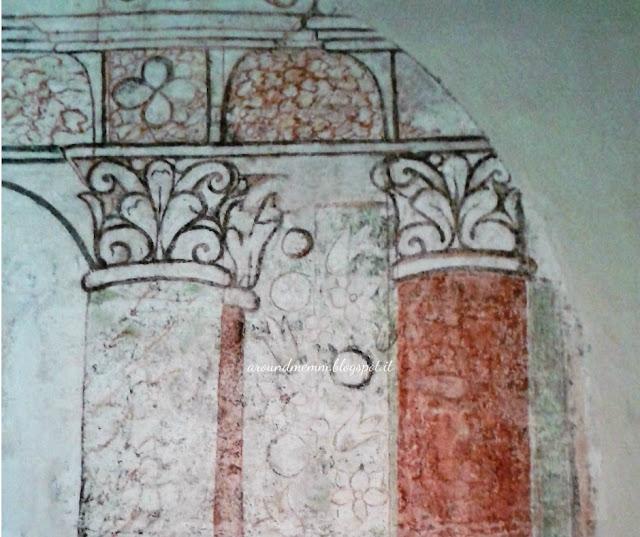 Immagine dell'affresco nel Castello Muscettola
