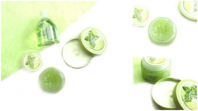 The Body Shop Virgin Mojito Range