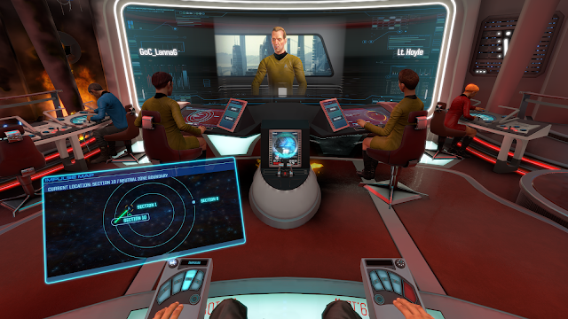 Screenshot from Star Trek: Bridge Crew