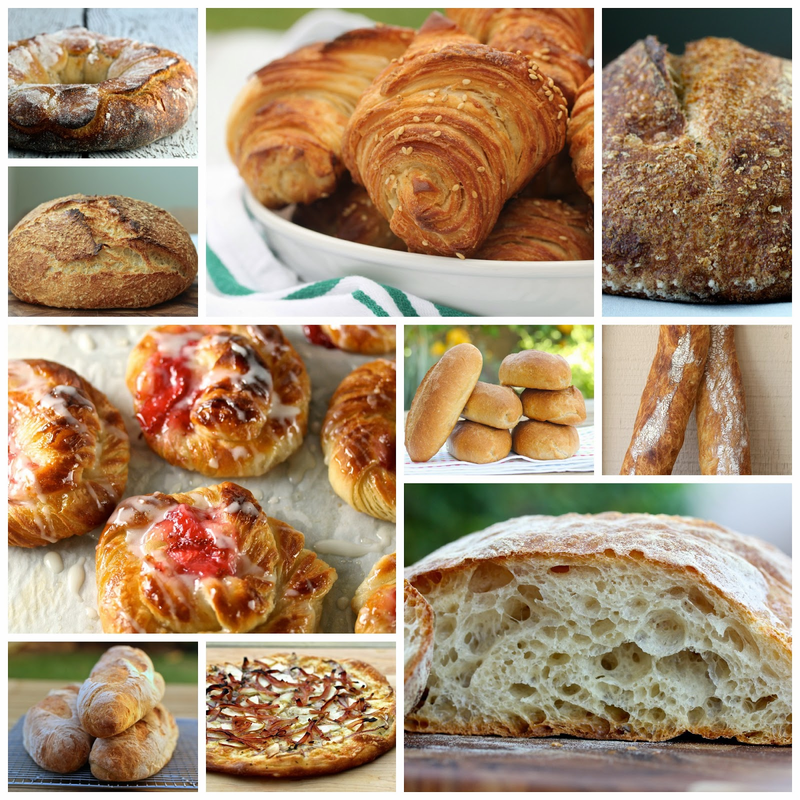 A Round Up of Some of my Favorite Breads from Karen's Kitchen Stories