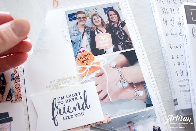 Share What You Love Suite / Love What You Do Stamp Set Travel Journal - Susan Wong for Stampin' Up! Corporate Blog