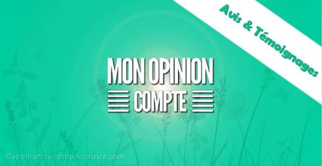 Avis sur Mon Opinion Compte : témoignages et preuves de paiement
