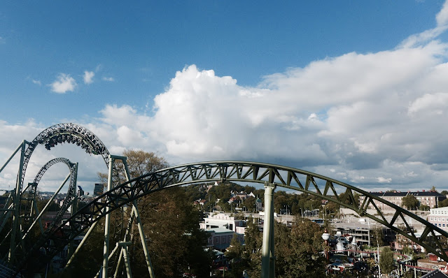 Photo of Norwegian Loop Inversion on Helix at Liseberg
