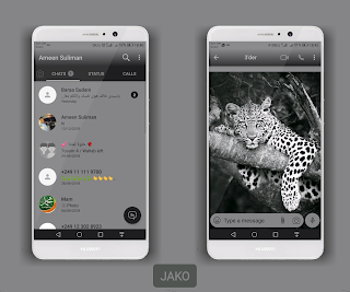 Tiger Cute Theme For YOWhatsApp & Fouad WhatsApp By Ameen Suliman
