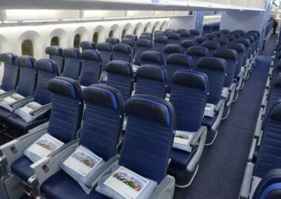 Boeing 767-300ER seats
