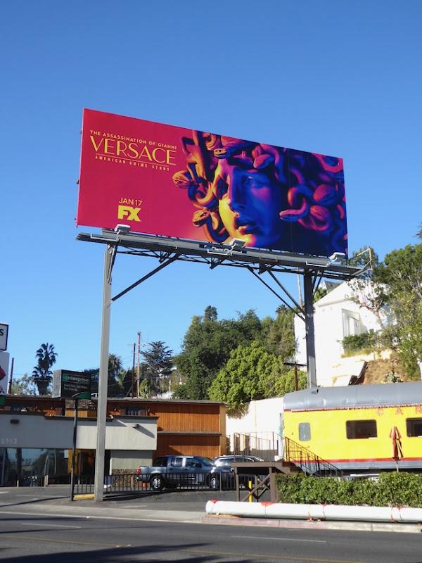 American Crime Story Gianni Versace billboard
